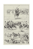 Polo with Nawabs of Baltistan at Skardo, North Kashmir Giclee Print