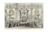 Investiture of the Order of St Patrick, at Dublin Castle Giclee Print