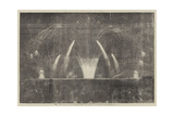 The Peace Commemoration, the Fireworks in Victoria-Park Giclee Print