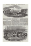 Floods in the Midland and Western Districts Giclee Print