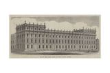 The New Privy Council Offices and Board of Trade, Whitehall Giclee Print