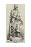 Statue of Sir Isaac Newton, Inaugurated Last Week at Grantham Giclee Print
