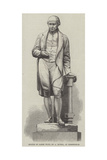 Statue of James Watt, by a Munro, at Birmingham Giclee Print