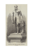 Statue of the Late Sir Peter Fairbairn, at Leeds Giclee Print