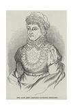 The Late Miss Caroline Lucretia Herschel Giclee Print