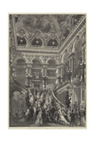 The Grand Staircase in the New Opera-House, Paris Giclee Print