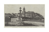 Fontarabia, Visited by the Queen from Biarritz Giclee Print