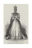 Adelina, Empress of Hayti, in Her Coronation Robes Giclee Print