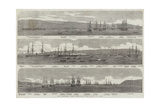 The Transport Fleet Embarking the Troops, at Varna Giclee Print