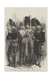 Infantry of the French Imperial Guard Giclee Print