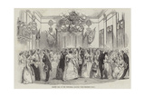 Masonic Ball in the Town-Hall, Salford Giclee Print
