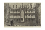 The Wilberforce Screen, Winchester Cathedral Giclee Print