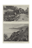 The Railway Disaster in the Riviera Giclee Print