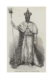 Faustin, Emperor of Hayti, in His Coronation Robes Giclee Print