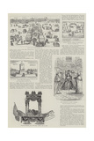 The Beginnings of Illustrated Journalism Giclee Print