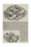 Workhouses in Canterbury and Andover Giclee Print