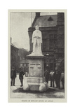 Statue of Edward Irving at Annan Giclee Print