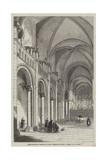 Queen Matilda's Church at Caen, Normandy Giclee Print