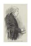 Mr Whiteside, Counsel for Mr S O'Brien Lámina giclée