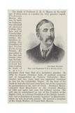 The Late Professor J E C Munro Lámina giclée