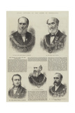 Grand Officers of the Order of Freemasons Giclee Print