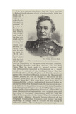 The Late Admiral Sir George Richards Giclee Print