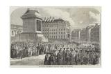Funeral of the Duke of Wellington Giclee Print
