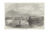 The Ganges Canal, at Roorkee Giclee Print