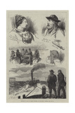 Sketches of the Tay Bridge Disaster Giclee Print