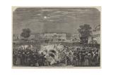 Fireworks at Moorshedabad Giclee Print