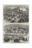 Sketches of the Bois De Boulogne Giclee Print