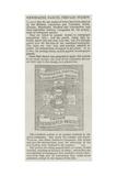 Newspaper Parcel Prepaid Stamps Giclee Print