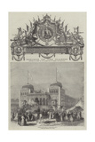 Palace of the Bey of Tunis Giclée-tryk