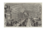 The Burns Banquet at Montreal Giclee Print