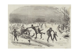 Skating in the Regent's Park Giclee Print