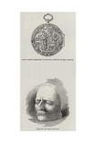 Memorials of Sir Isaac Newton Giclee Print
