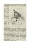 The Late Mr G a Baird Giclee Print