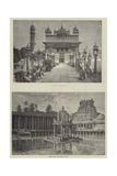 Scenes in India Giclee Print