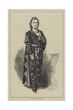Mr Edwin Booth as Hamlet Giclee Print