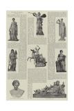 The Gods of Olympus Giclee Print