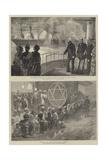 Royal Visit to India Giclee Print