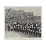 English Freemasons at Jerusalem Giclee Print