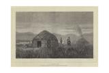 A Khirghese Camp Giclee Print