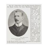 Professor H S Hele-Shaw Giclee Print