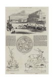 Ascot-Heath Races Giclee Print