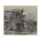 Captain Moncrieff's Protected Barbette Gun Giclee Print