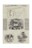 Ascot Heath Races Giclee Print