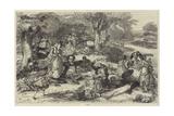A Picnic Giclee Print