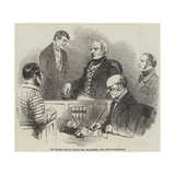 The Thames Police Office, Mr Ballantine, the Senior Magistrate Giclee Print