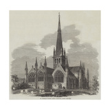 St Nicholas Church, Great Yarmouth, Lately Restored Giclee Print